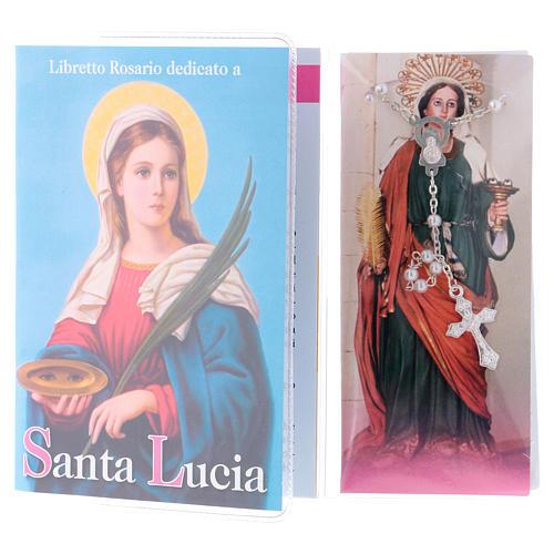 Libretto rosario Santa Lucia e rosario ITA 2