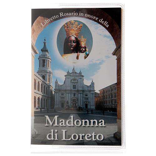 Libretto rosario Madonna di Loreto e rosario ITA 1