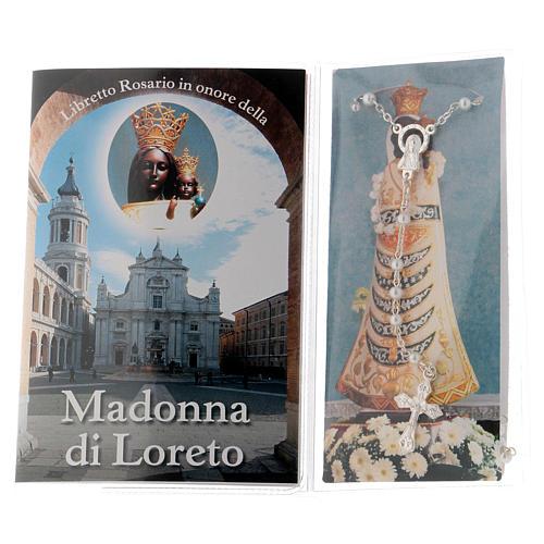 Libretto rosario Madonna di Loreto e rosario ITA 2