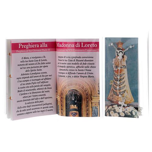 Libretto rosario Madonna di Loreto e rosario ITA 3