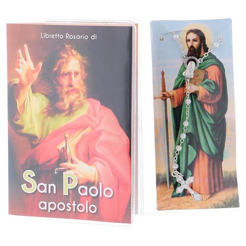 Libretto rosario San Paolo apostolo e rosario ITA 2