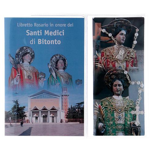 Libretto rosario Santi Medici di Bitonto e rosario ITA 2