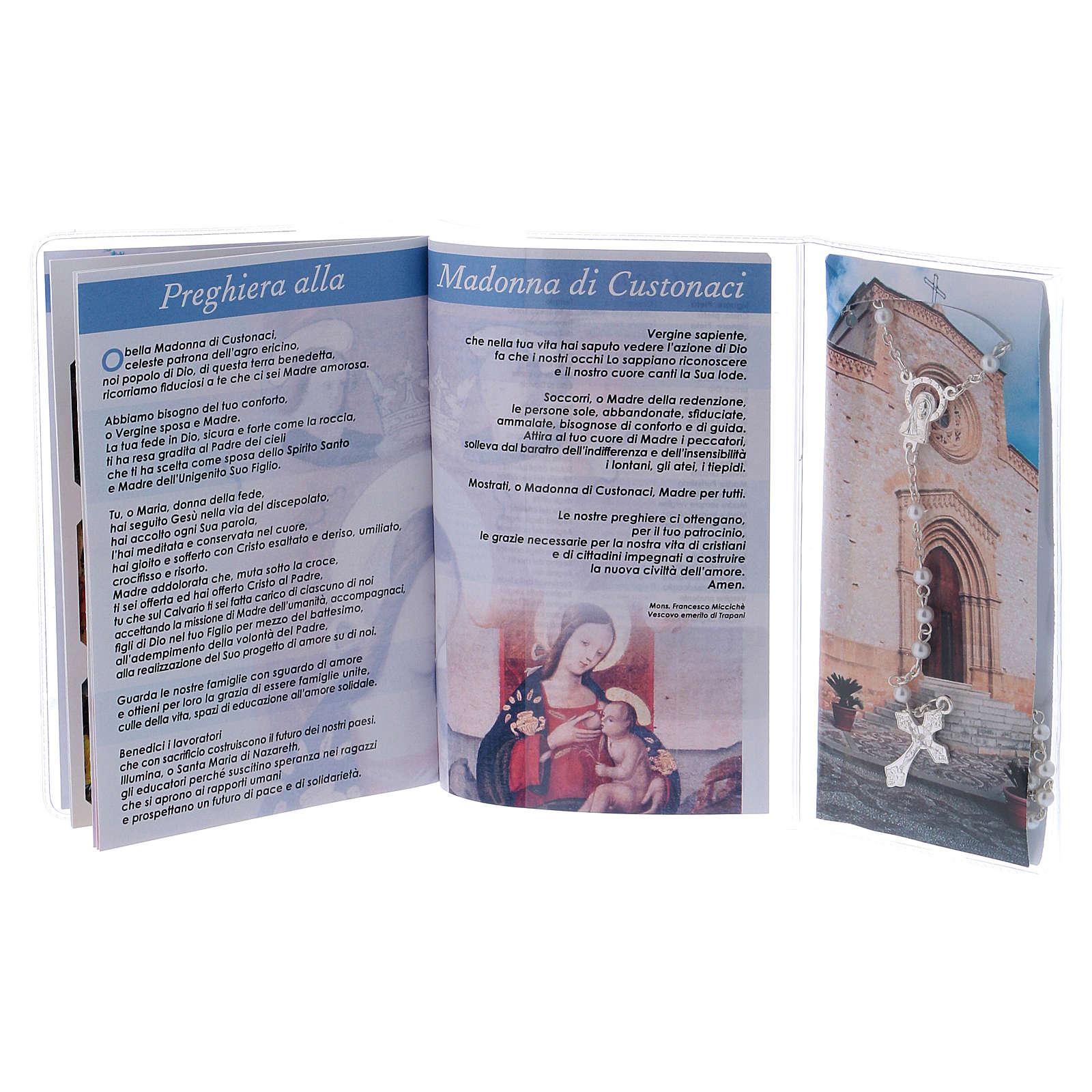 Libretto rosario Madonna di Custonaci e rosario ITA 4