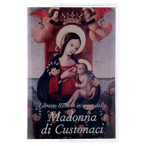 Libretto rosario Madonna di Custonaci e rosario ITA 1