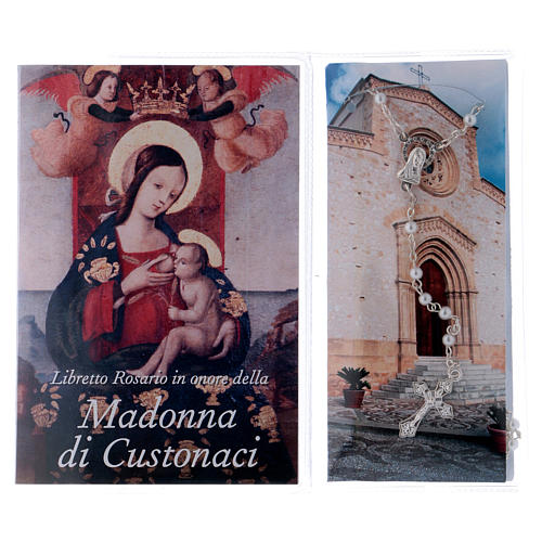 Libretto rosario Madonna di Custonaci e rosario ITA 2
