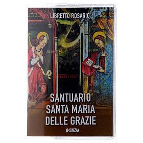 Libretto rosario Santuario Santa Maria delle Grazie e rosario ITA s1