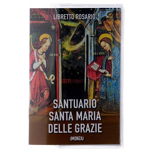 Libretto rosario Santuario Santa Maria delle Grazie e rosario ITA 1
