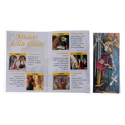 Libretto rosario Santuario Santa Maria delle Grazie e rosario ITA 3