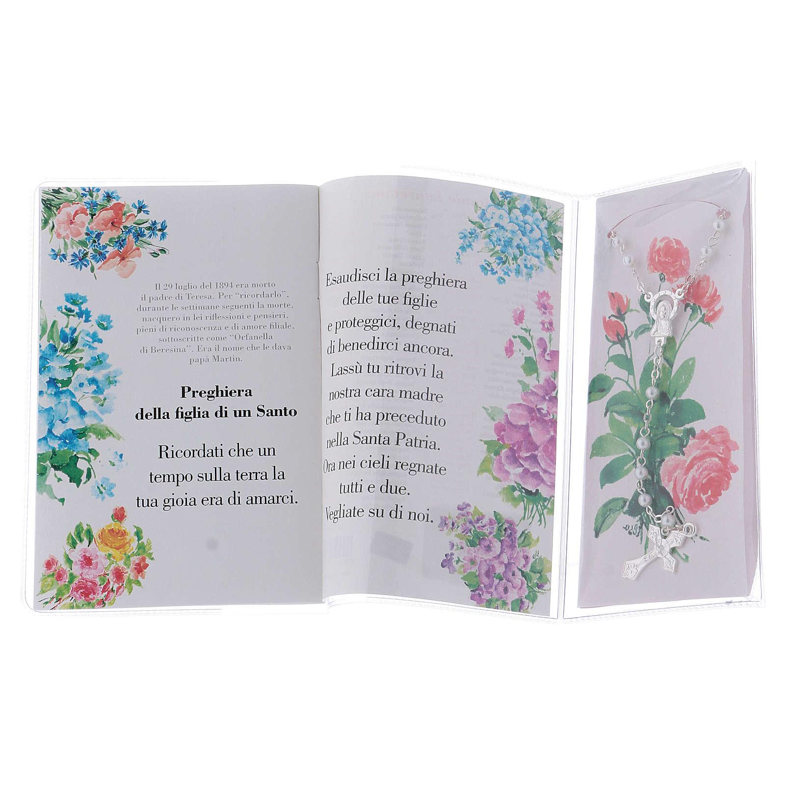 Libretto rosario Santa Teresa Lisieux e rosario ITA 4