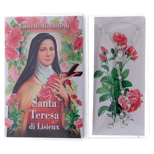 Libretto rosario Santa Teresa Lisieux e rosario ITA 2