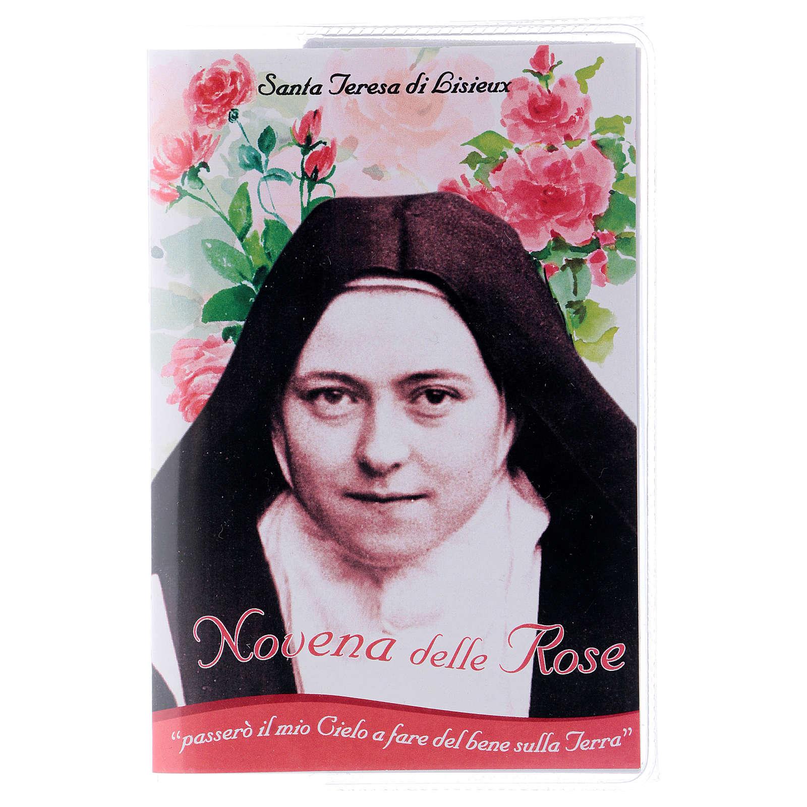 Libretto Novena delle Rose S. Teresa di Lisieux e rosario ITA 4