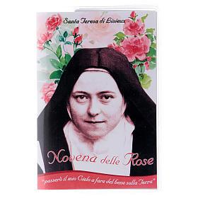 Libretto Novena delle Rose S. Teresa di Lisieux e rosario ITA s1