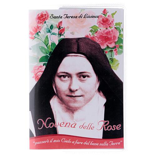 Libretto Novena delle Rose S. Teresa di Lisieux e rosario ITA 1
