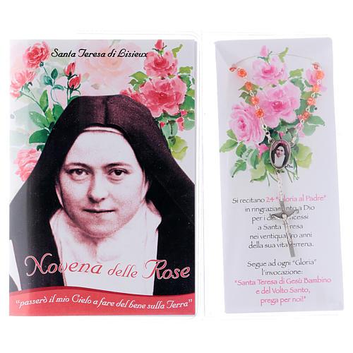 Libretto Novena delle Rose S. Teresa di Lisieux e rosario ITA 2