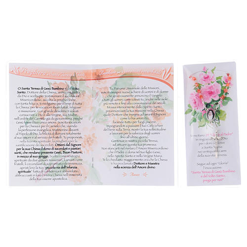 Libretto Novena delle Rose S. Teresa di Lisieux e rosario ITA 3