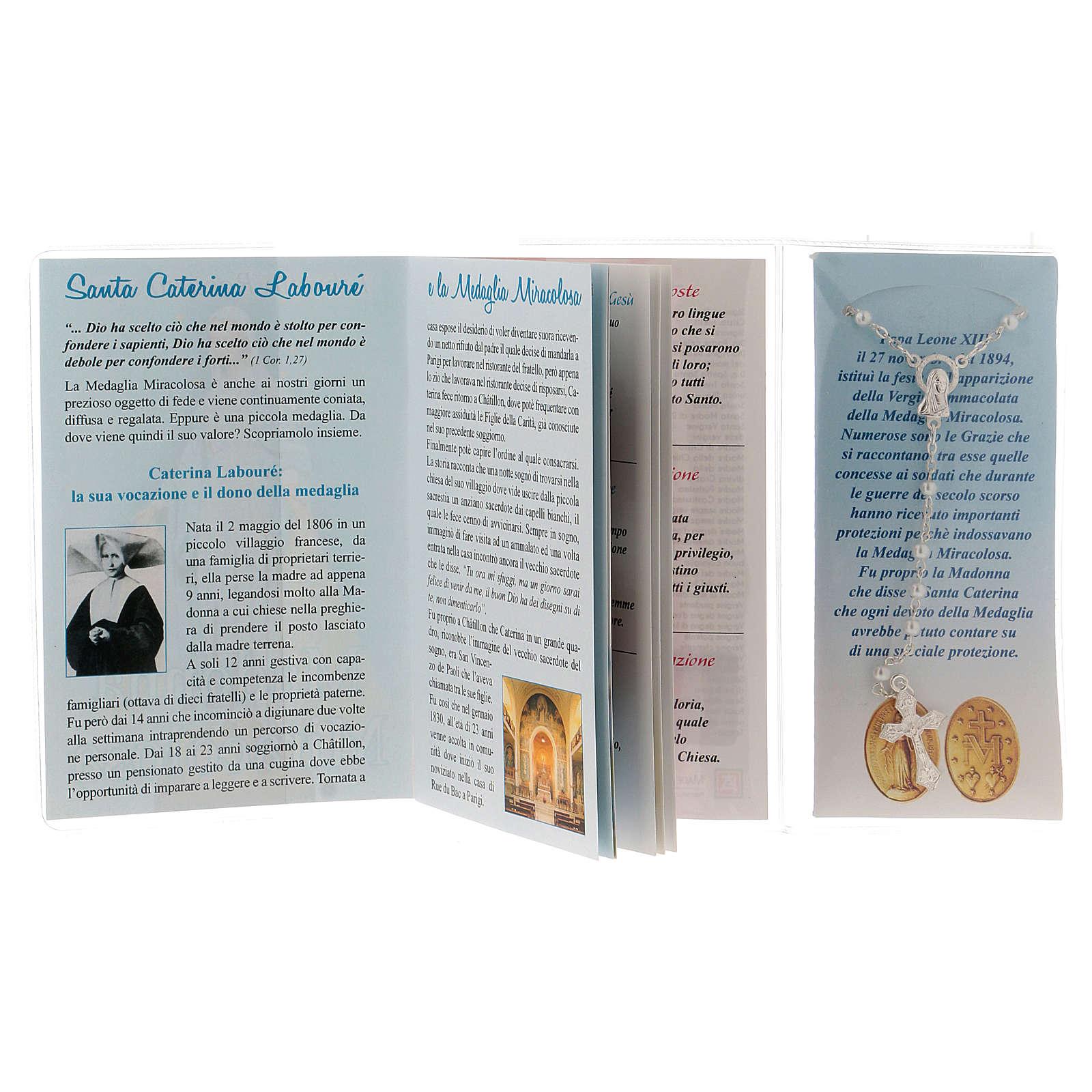 Libretto rosario Madonna Miracolosa e rosario ITA 4