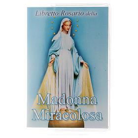 Libretto rosario Madonna Miracolosa e rosario ITA s1