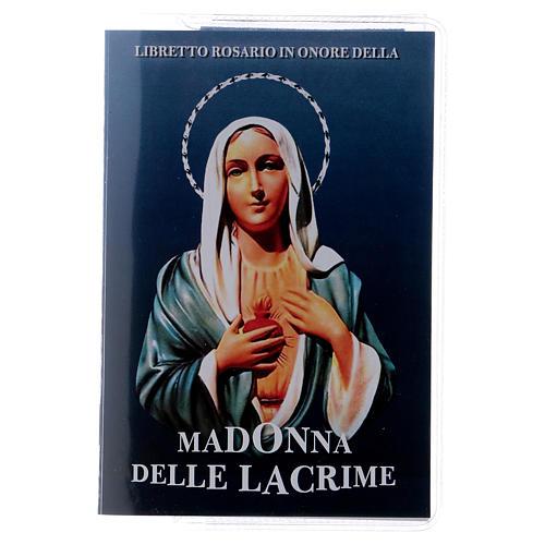 Libretto rosario Madonna delle Lacrime e rosario ITA 1