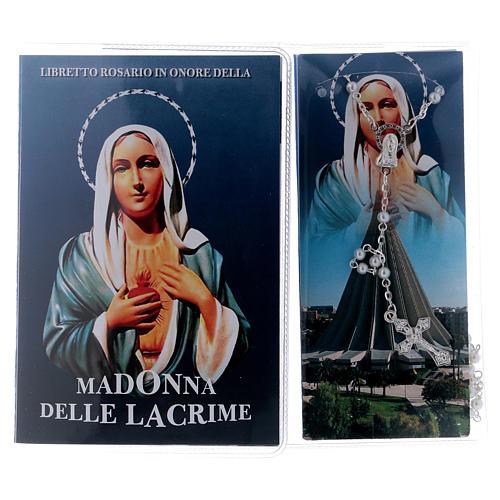 Libretto rosario Madonna delle Lacrime e rosario ITA 2