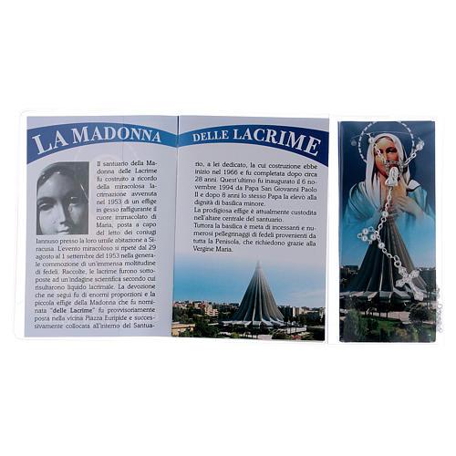Libretto rosario Madonna delle Lacrime e rosario ITA 3