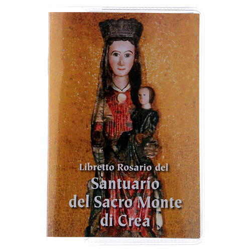 Libretto rosario Santuario del Sacro Monte di Crea ITA 1