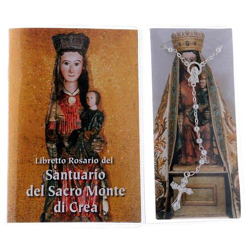 Libretto rosario Santuario del Sacro Monte di Crea ITA 2