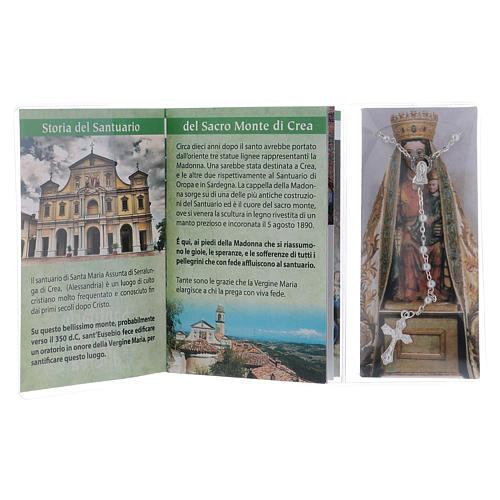 Libretto rosario Santuario del Sacro Monte di Crea ITA 3