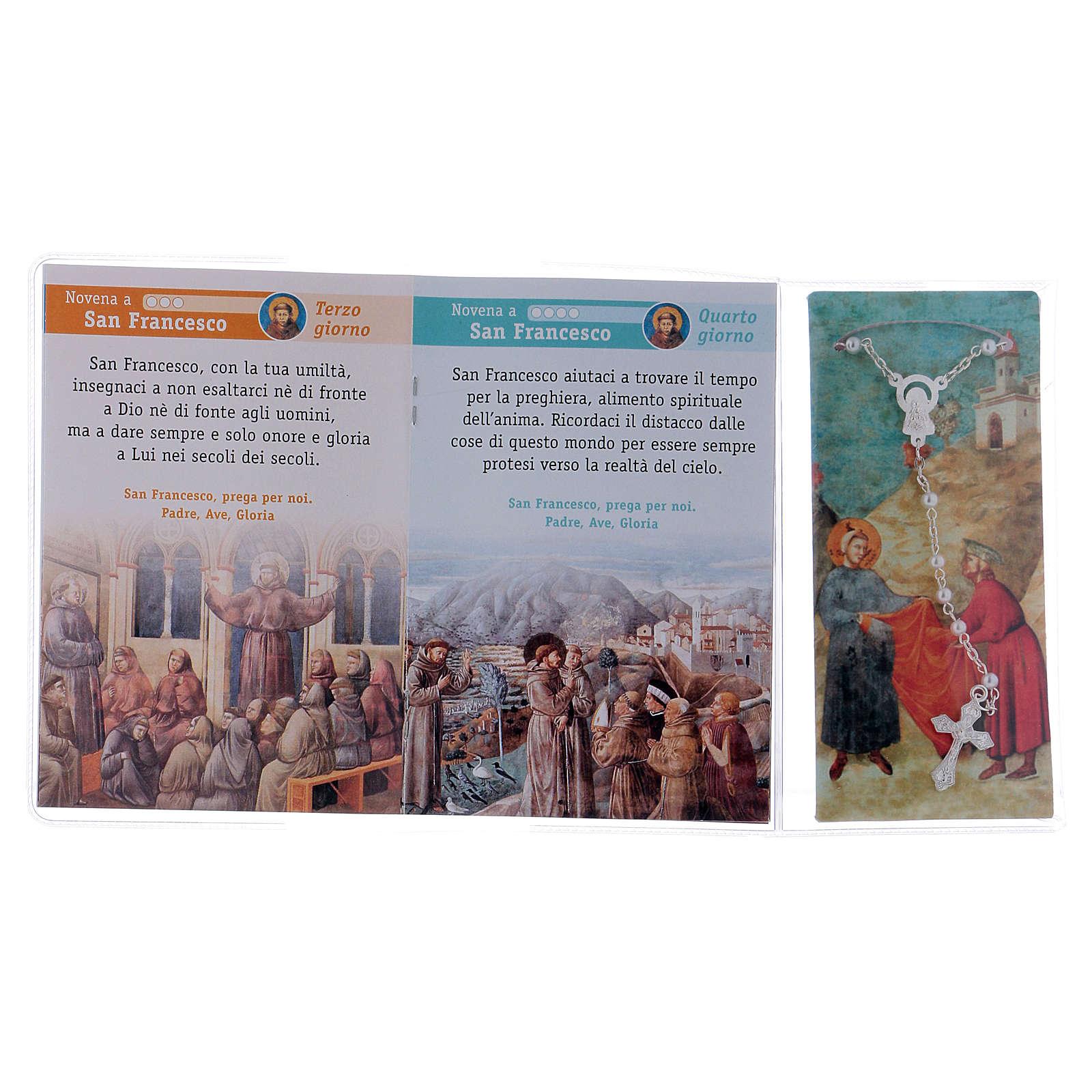 Libretto Novena a S. Francesco Assisi e rosario ITA 4