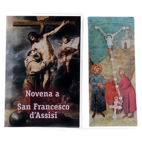 Libretto Novena a S. Francesco Assisi e rosario ITA 2