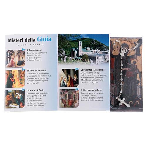 Libretto rosario Santuario di Montevergine e rosario ITA 3