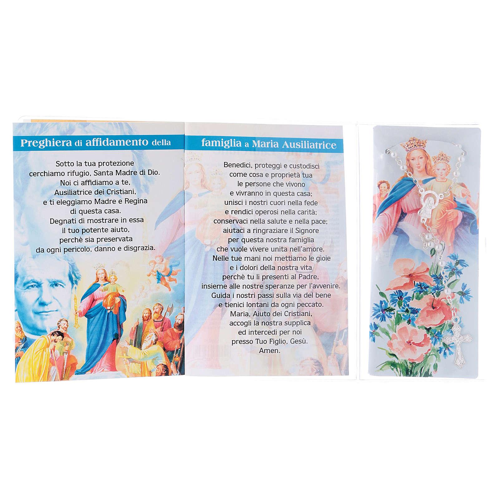 Libretto rosario Madonna ausiliatrice e rosario ITA 4