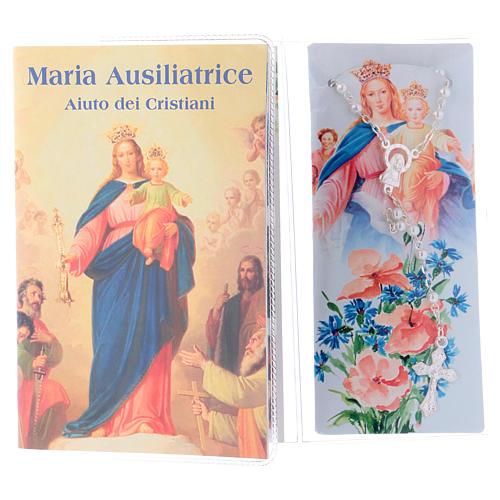 Libretto rosario Madonna ausiliatrice e rosario ITA 2