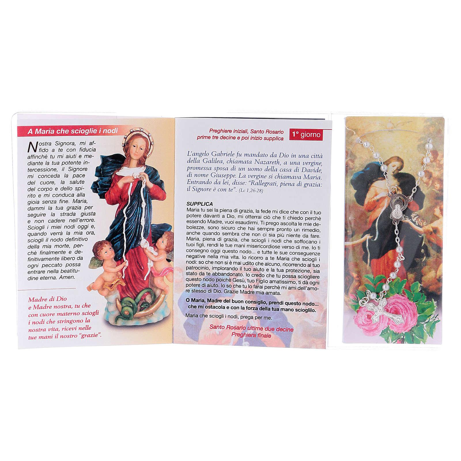 Libretto Novena Maria che scioglie i nodi e rosario ITA 4