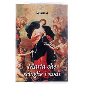 Calendari e altri libri religiosi: Libretto Novena Maria che scioglie i nodi e rosario ITA