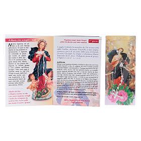 Libretto Novena Maria che scioglie i nodi e rosario ITA s3