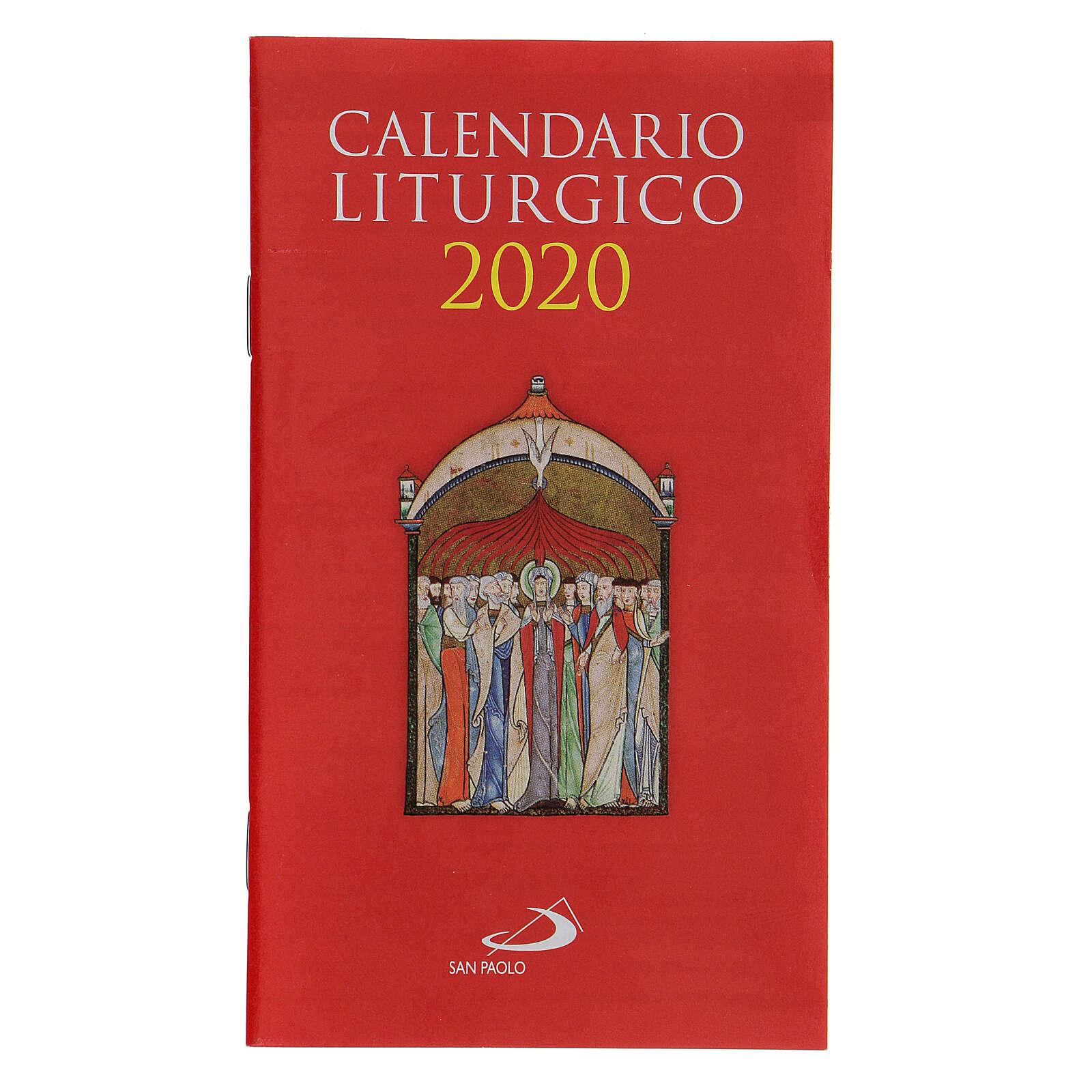 Calendrier liturgique 2020 4