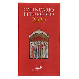 Calendrier liturgique 2020 s1