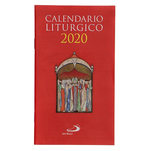 Calendrier liturgique 2020 1