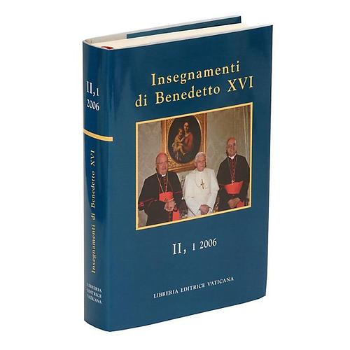 Enseñanzas de Benedicto XVI 1