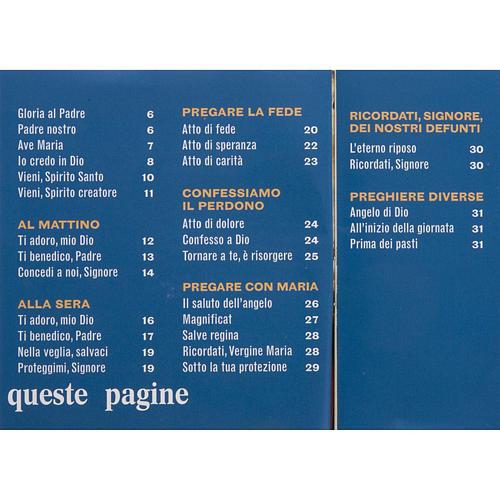Oraciones de cada día EDB- idioma Italiano - 3