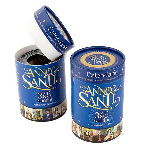 Calendario Un año de Santos 2011 1
