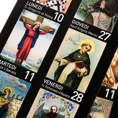 Calendario Un año de Santos 2011 3