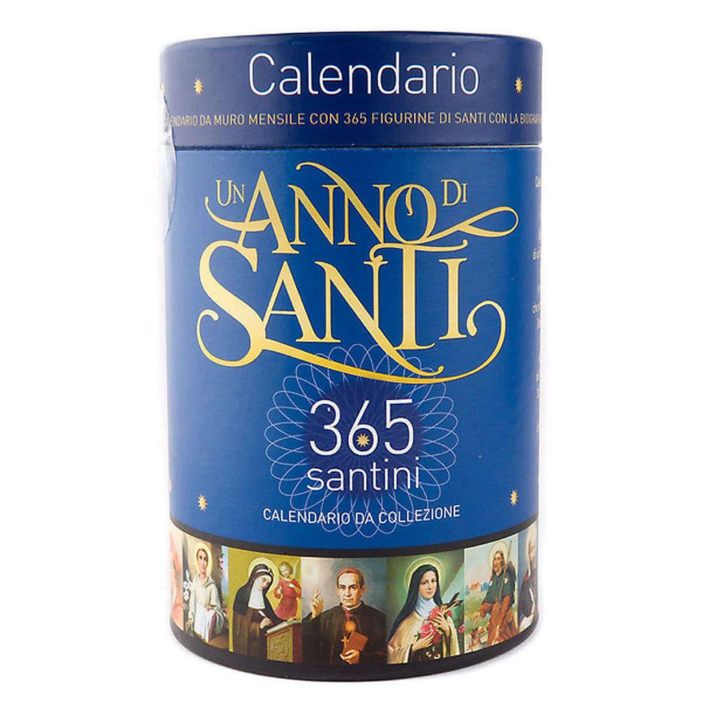 Calendario Un anno di Santi 2011 4