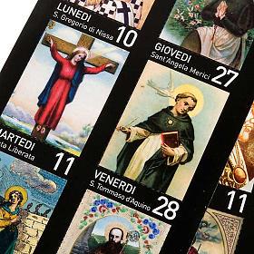 Calendario Un anno di Santi 2011 s3