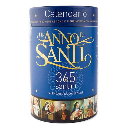 Calendario Un anno di Santi 2011 2