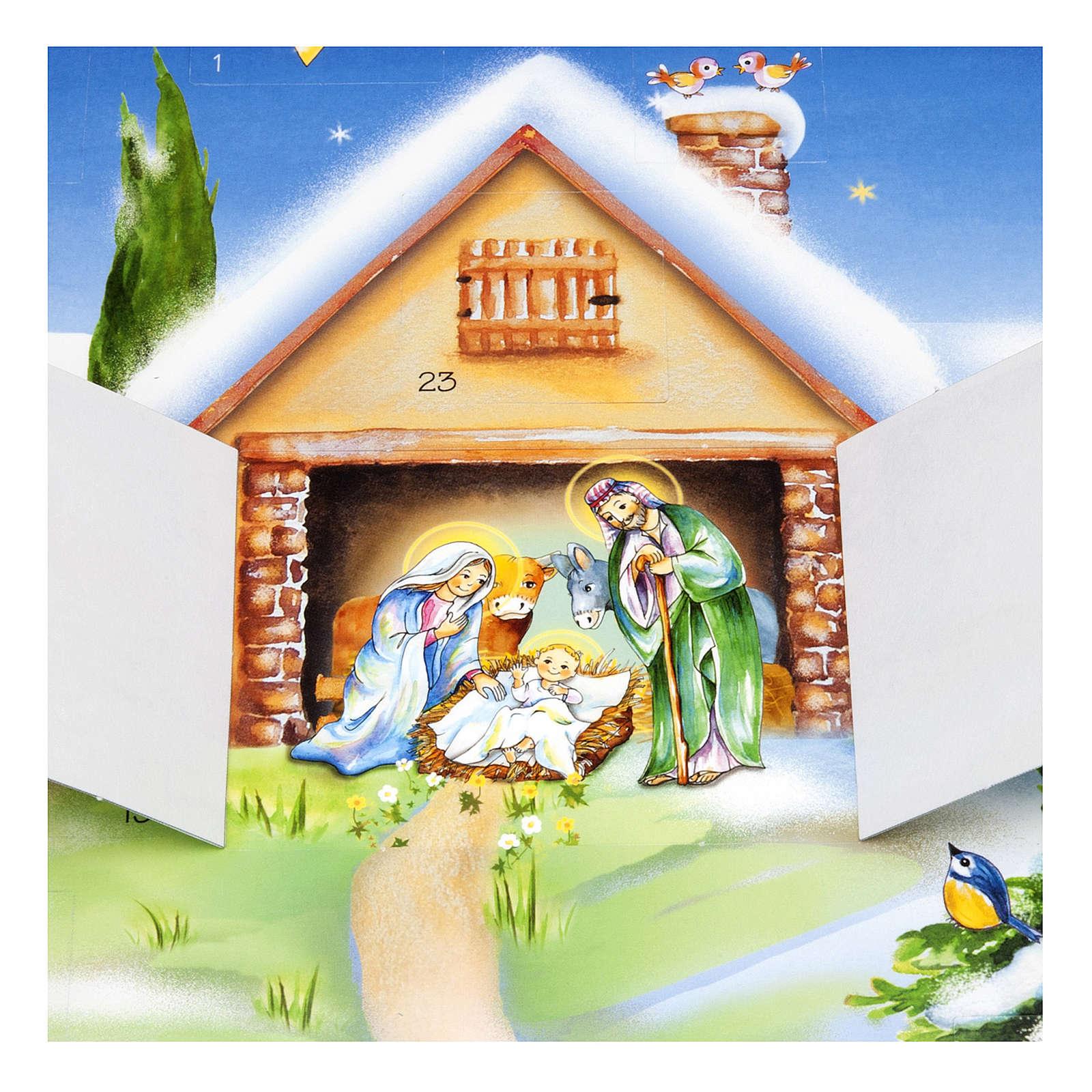 Calendario de Adviento Cartoncillo 4