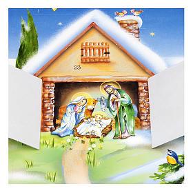 Calendario de Adviento Cartoncillo s2