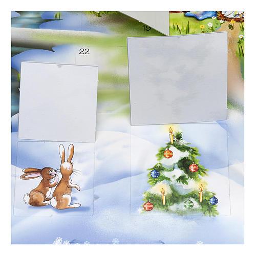 Calendario de Adviento Cartoncillo 3