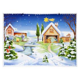 Calendários e Livros Religiosos: Calendário de Natal