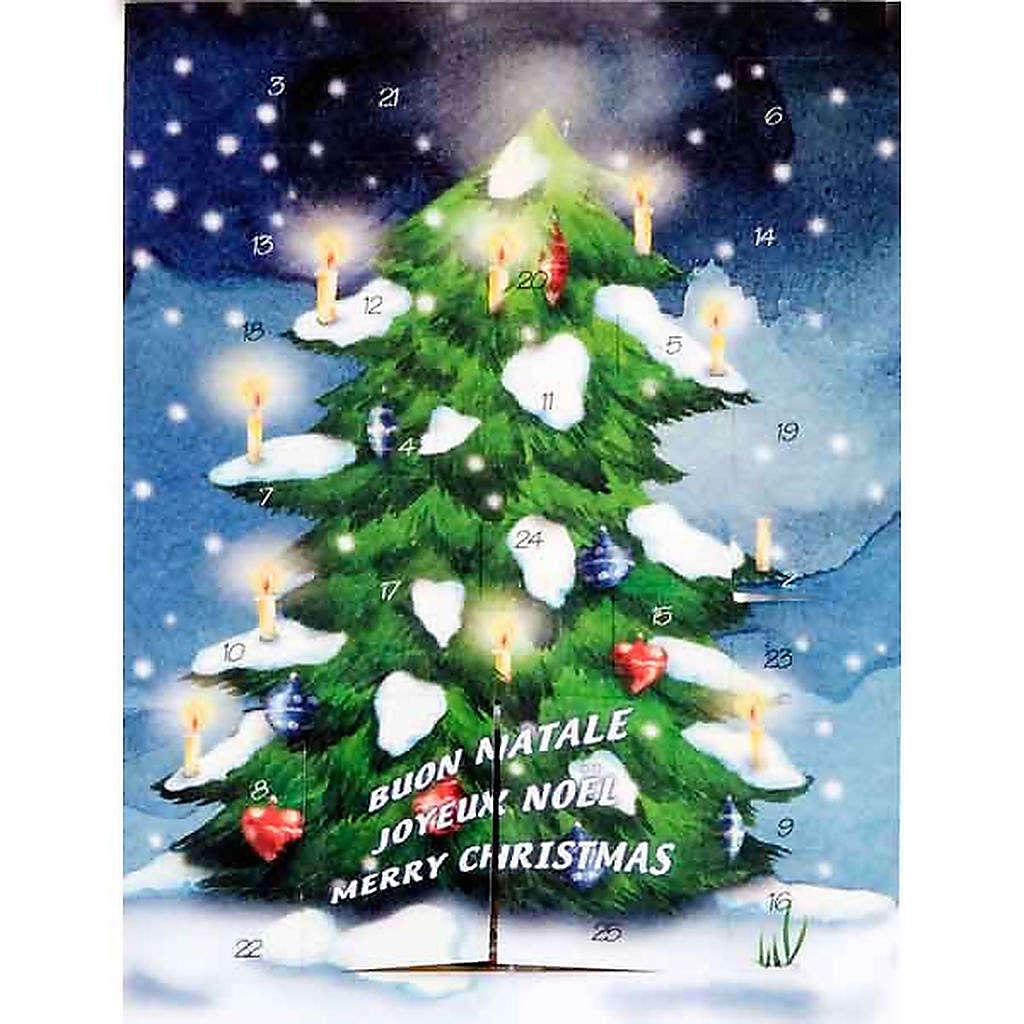 Calendario de Adviento Árbol Navidad 4